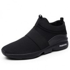 New Fashion Men's Casual Running Sport Shoes-Black